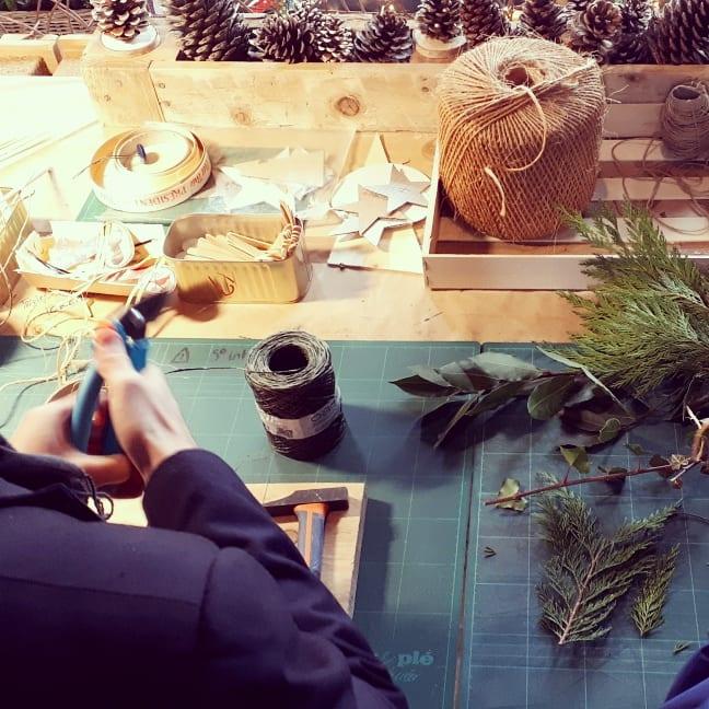 Photo d'atelier créatif en cours